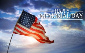 Monday, May 25, 2015 Town Hall will be closed in observance of the Memorial Day Holiday. The offices will re-open on Tuesday, May 26, 2015.